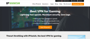 IPVanish Gaming